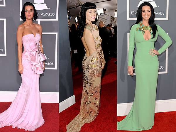 Cantik dan Seksi, Penampilan Katy Perry di Red Carpet Grammy Awards