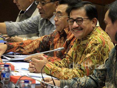 Komisi II-Menteri Agraria Bahas PBB dan NJOP