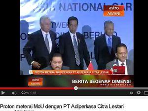 Jokowi Dukung Hendropriyono Garap Mobnas Bareng Proton