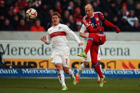 Kalahkan Stuttgart, Bayern Kembali ke Jalur Kemenangan