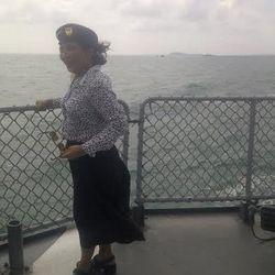 Tenggelamkan Kapal Thailand Pencuri Ikan, Menteri Susi Mengarungi Laut 11 Jam