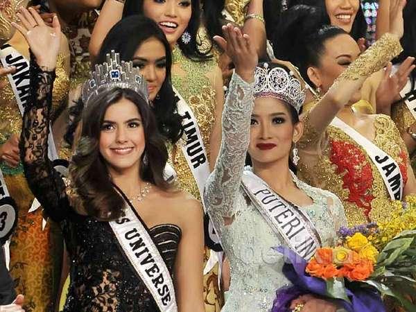 Miss Universe 2014 Hadiri Malam Puncak Pemilihan Puteri Indonesia 2015