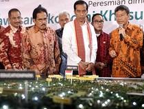 Jokowi Resmikan Kawasan Ekonomi Khusus Tanjung Lesung