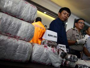 Polisi Tangkap Jaringan Narkoba Internasional