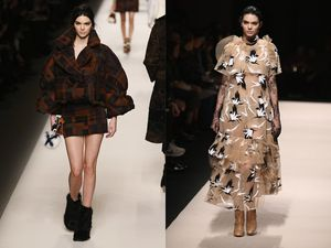 Kendall Jenner Curi Perhatian di Milan Fashion Week