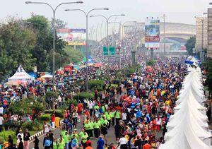 Semarak Perayaan HUT ke-18 Kota Bekasi