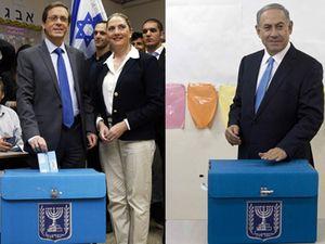 Netanyahu dan Herzog Berikan Hak Suaranya