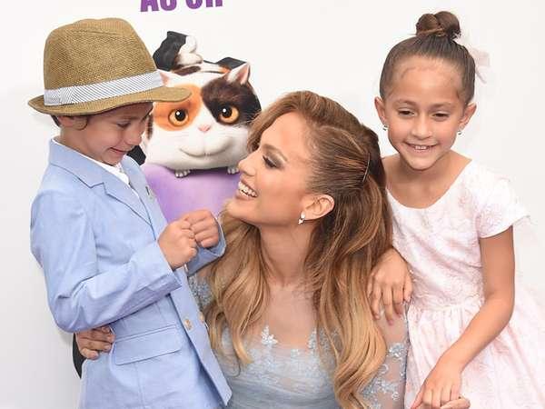 Jennifer Lopez dan Anak Kembar Kesayangannya