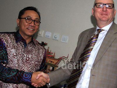 Dubes Australia Bertemu Ketua MPR