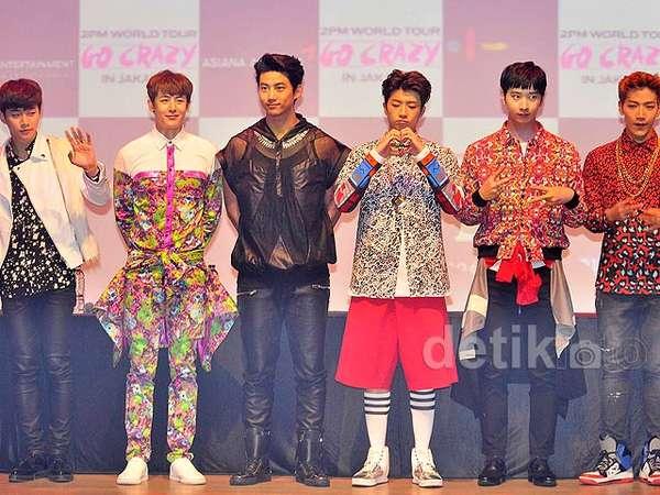 Put Your Hands Up, Hottest! 2PM Siap Menggila di Jakarta