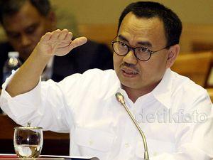 Menteri ESDM Rapat Kerja dengan Komisi VII