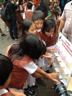 Cek Jajanan Sekolah Anak, BPOM dan KPAI Sidak SDN di Rawamangun