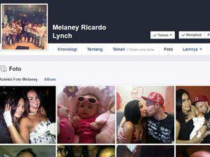 Akun Facebook Melaney Ricardo yang Dicatut Pelaku Pedofil