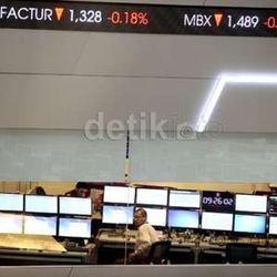Investor Kurang Gairah, IHSG Jatuh 48 Poin