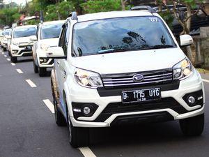 11 Mobil Daihatsu Terios Jelajahi Pulau Bali