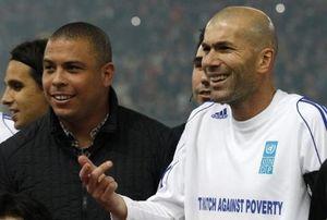 Galang Dana untuk Korban Ebola, Zidane dan Ronaldo Gelar Laga Amal