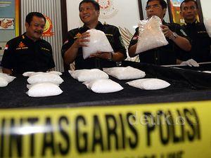 Bareskrim Ungkap Kasus Narkoba Jaringan Malaysia