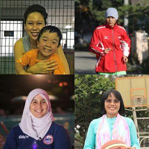 Kartini Olahraga: Dari Atas Arena Sampai Melahirkan dan Membesarkan Atlet Muda