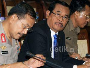 Komisi III Rapat Bareng Kapolri dan Jaksa Agung
