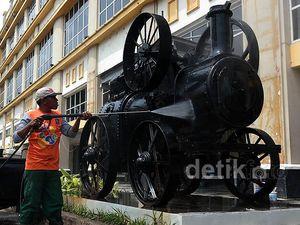 Persiapan Jelang Pembukaan Museum Surabaya