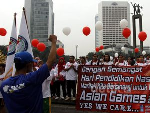 Aksi Dukung Asian Games 2018