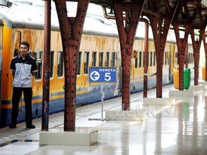 Stasiun KA Senen Kini Bersih dan Rapi