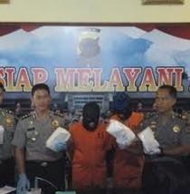 Polres Langsa Aceh Tangkap 2 Pengedar Narkoba, 5 Kg Sabu Disita