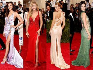 Irina Shayk Hingga Kendall Jenner, Model-model Seksi di Met Gala 2015