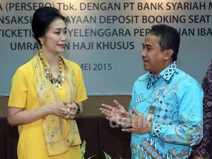 Garuda Indonesia Gandeng Bank Syariah Mandiri