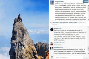 Kata Traveler Tentang Pendaki yang Jatuh di Kawah Merapi