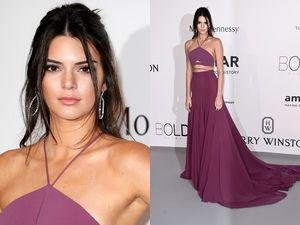 Pretty in Purple Kendall Jenner