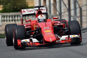 Geser Dominasi Hamilton, Vettel Tercepat