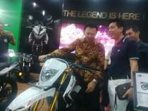 Bareng Prasetio dan Ketua F-NasDem, Ahok Jajal Motor Trail di Jakarta Fair