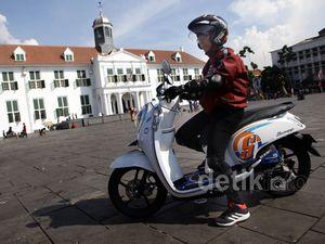 Honda Scoopy eSP Dikenalkan di Kota Tua