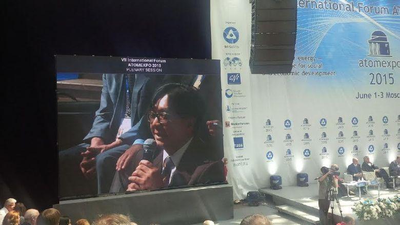 Jadi Panelis di Diskusi Atom Expo, Kepala BATAN Bicara Nuklir di RI