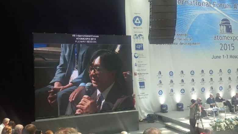 Indonesia di Atom Expo, Moskow, Rusia