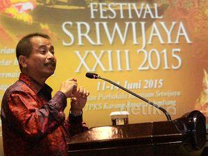 Menpar Buka Festival Sriwijaya