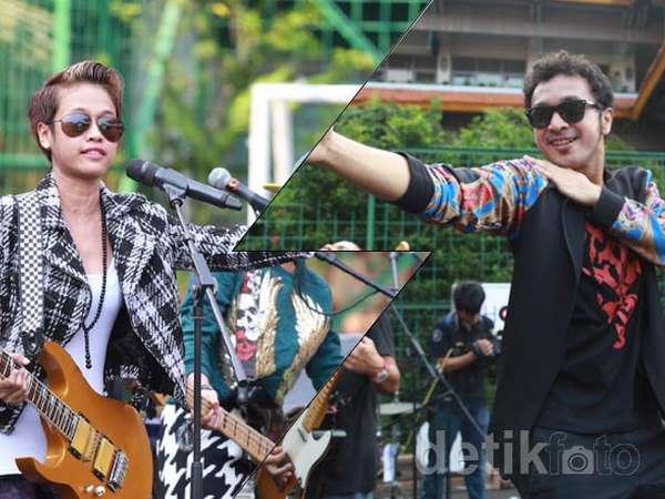 Seru Banget! Nidji dan GoGoJiLL Meriahkan School Hot Musik