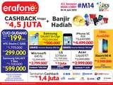Smartphone harga khusus di Booth Erafone menggoyang ICS 2015 - JCC Senayan
