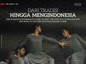 Koreografer Benny Krisnawardi: Dari Tradisi Hingga Meng-Indonesia