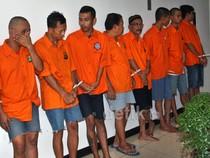 Komplotan Perampok Nasabah Bank Ditangkap