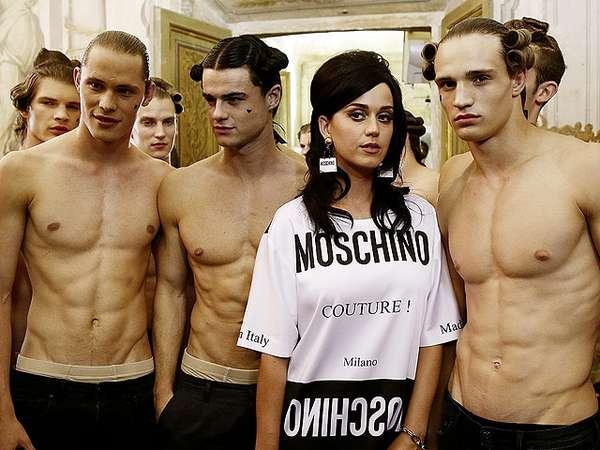 Katy Perry Dikelilingi Pria-pria Bertubuh Kekar