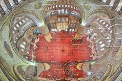 Kisah Tiga Bunga di Blue Mosque, Istanbul