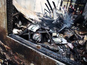 Begini Penampakan Komnas PA Setelah Terbakar