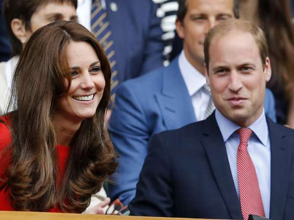 Pangeran William dan Kate Middleton Jadi Sorotan di Wimbledon 2015