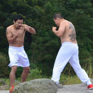 Duel Chris John dan Pacquiao di Kaki Gunung Merapi