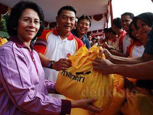 IKKT dan Bank Mandiri Gelar Bazar Ramadan di Mabes TNI