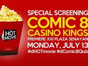 detikHOT Movie Exclusive Screening Comic 8: Casino Kings Digelar Malam Ini
