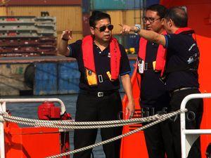 Ketua DPR Tinjau Pelabuhan New Tanjung Priok