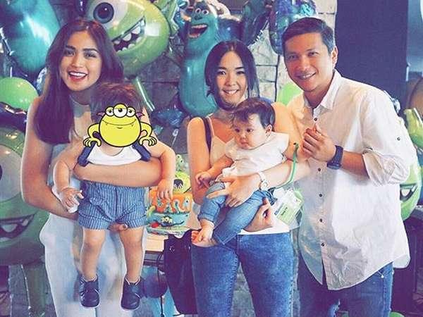 Yuk, Intip Kemeriahan Pesta Ultah Anak Jessica Iskandar!
